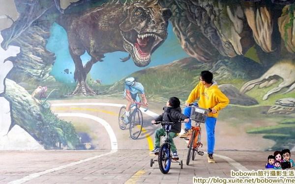 3D侏儸紀恐龍彩繪公園