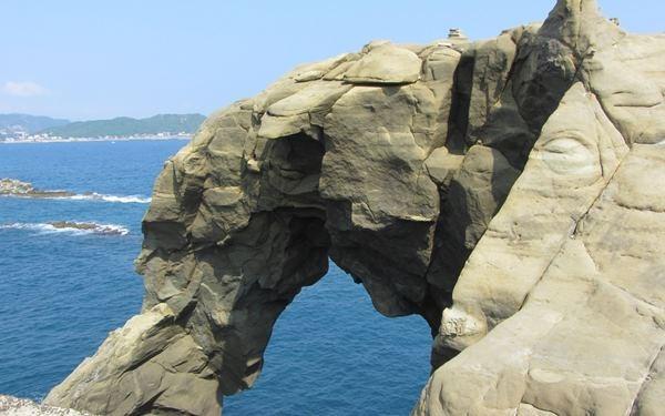深澳岬角象鼻岩景觀區