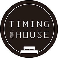 日月潭Timing house (苔米屋)LOGO