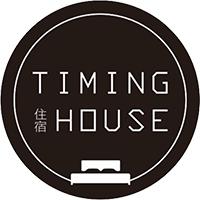 日月潭Timing house (苔米屋)LOGO